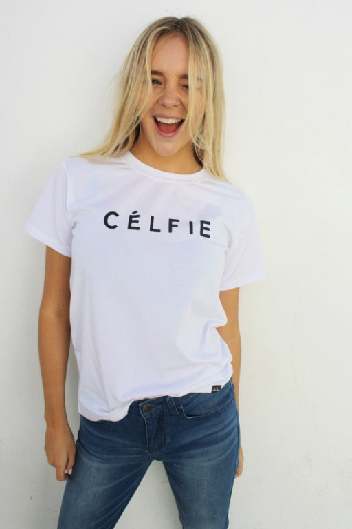 WEDNESDAYS PROJECT Celfie Tee White 33374