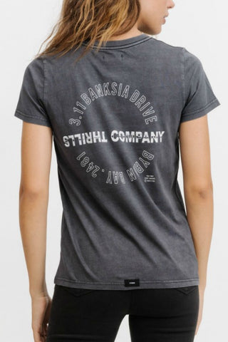THRILLS - Chrome Eagle Band Tee 32677