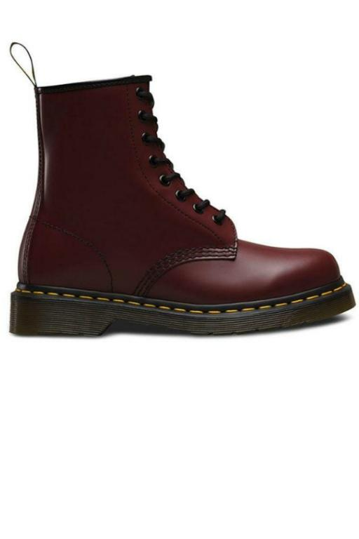 DR MARTENS 1460 Boot Smooth Cherry Red 32390