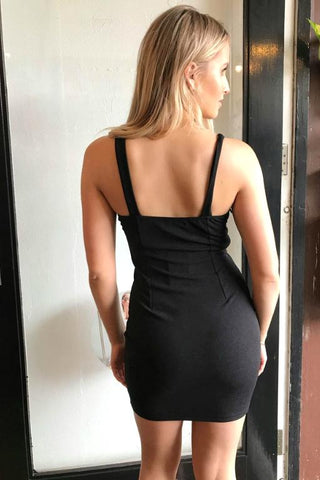 WEDNESDAYS PROJECT - Imogen Dress Black 33405