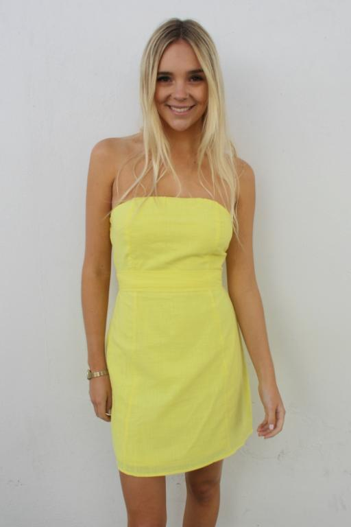 ASHA Miss West Coast Dress Yellow 33379