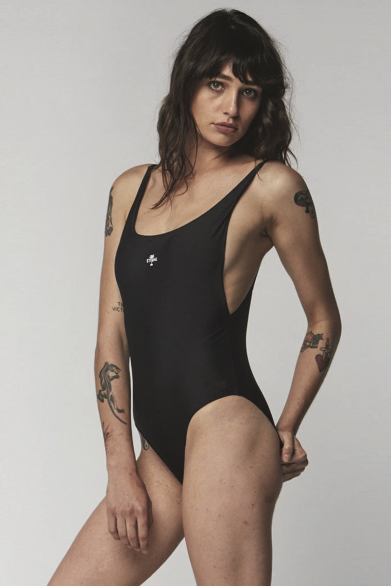 THRILLS Palm Embro One-Piece Black 32241