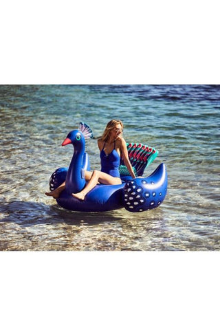 SUNNYLIFE Luxe Ride-On Float Peacock 32551