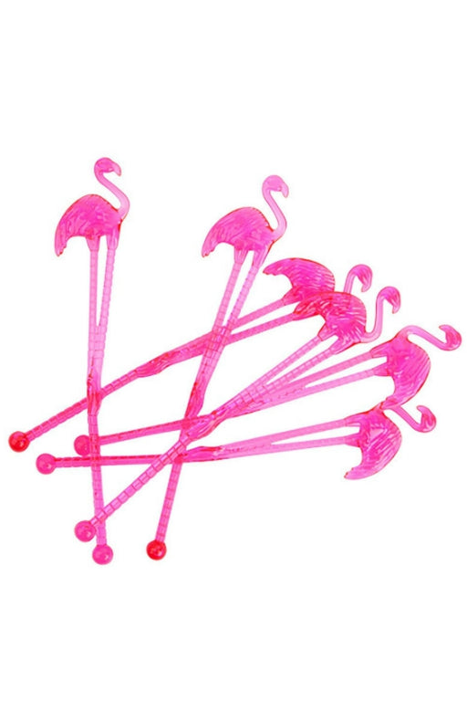SUNNYLIFE Flamingo Cocktail Stirrers 32493