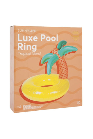 SUNNYLIFE Luxe Pool Ring Tropical 34360