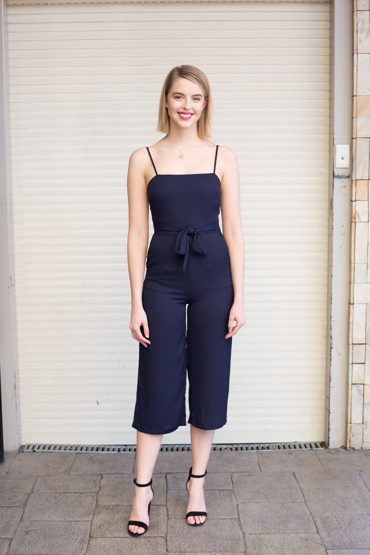LUVALOT Perfect Jumpsuit Navy 34343