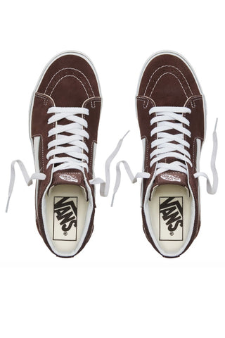 VANS Sk8 Hi Dry Chocolate Torte/True White Brown 34368