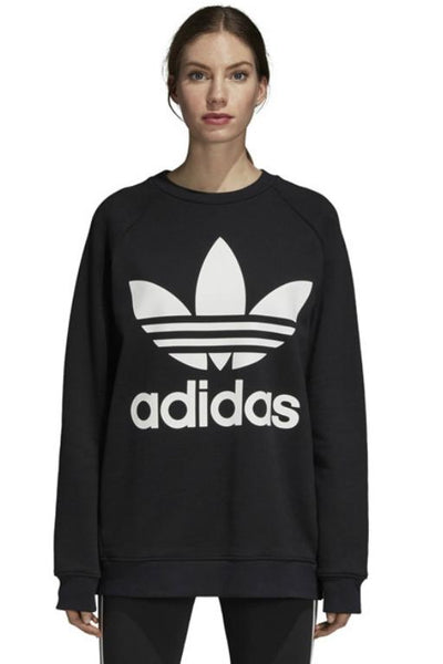 ADIDAS Oversized Crew Sweat Black 33772