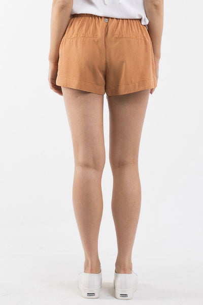 ALL ABOUT EVE Karsha Short Bronze (Rust) 33505