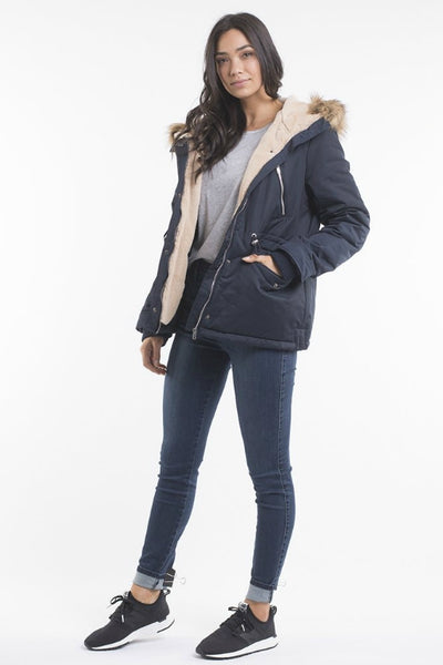 ALL ABOUT EVE Taylor Coat Navy 34027