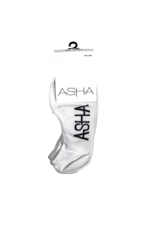 ASHA Multi 3 pack Socks White 30618