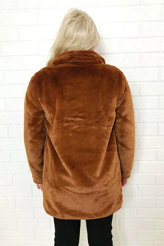ASHA Big Ted Jacket Chocolate 33572