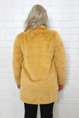 ASHA Big Ted Jacket Mustard 33572