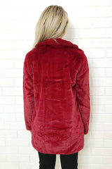 ASHA Big Ted Jacket Wine 33572