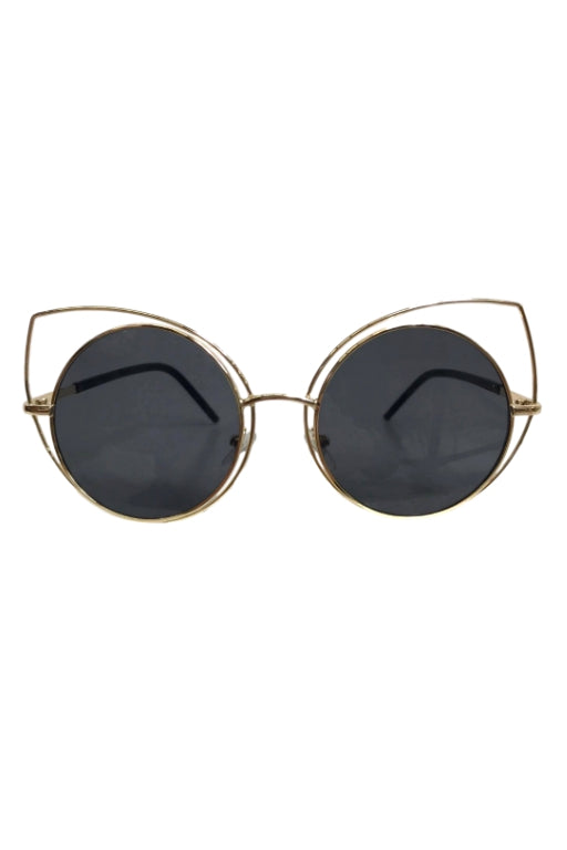 ASHA Cat Eye Sunglasses Black 32434