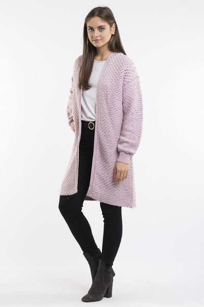 ALL ABOUT EVE Celeste Chunky Knit Pink 34028