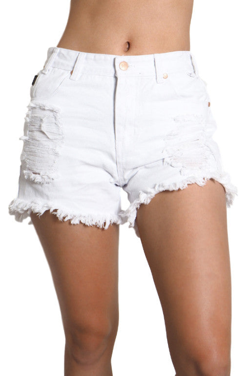REFUGE Coachella Short White 28776