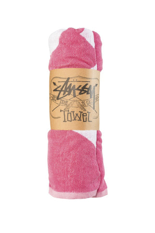 STUSSY Coco Towel Pink 29070