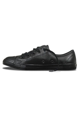 CONVERSE Dainty Leather Ox Black Mono 20028