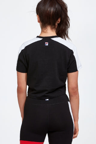 FILA Crop Tee Black 34168