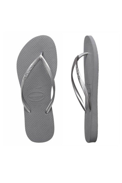 HAVAIANAS Slim Metallic Steel Grey 30971