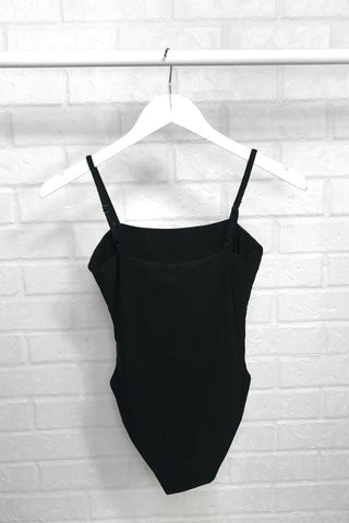 ASHA Heavenly Bodysuit Black 33688