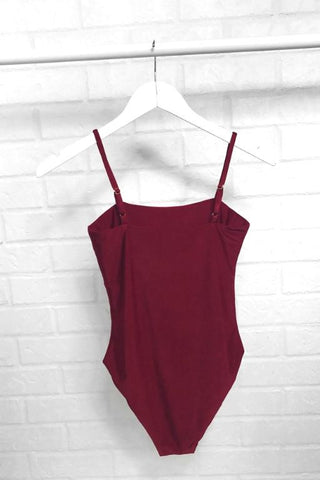ASHA Heavenly Bodysuit Wine 33688