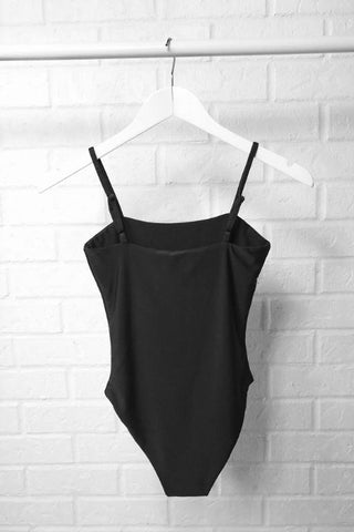 ASHA Heavenly Bodysuit Charcoal 33688