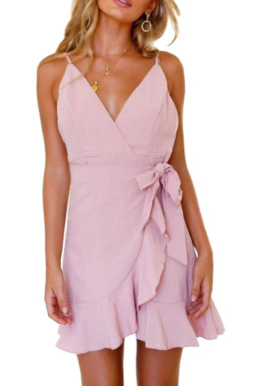 ASHA - Heymans Dress Pink 33223