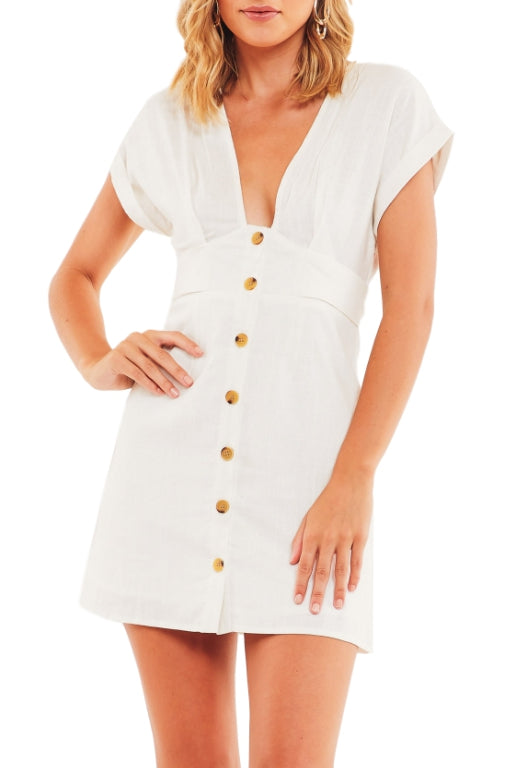 ASHA It's Not Easy Dress White 33257