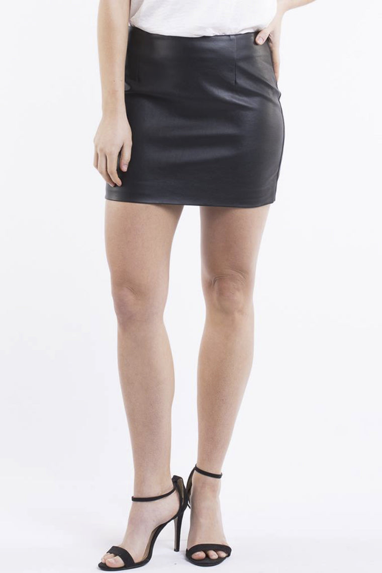 JORGE Kingdom Mini Skirt Black 33028