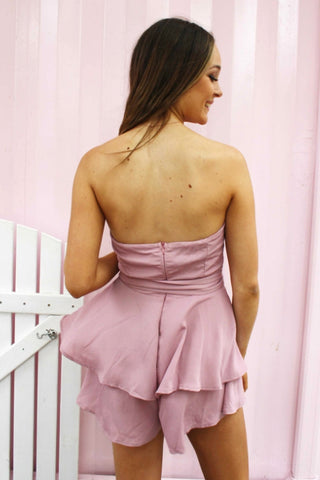 LUVALOT Margate Playsuit Pink 34586