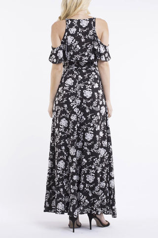 JORGE Last Time Maxi Dress Print 33032