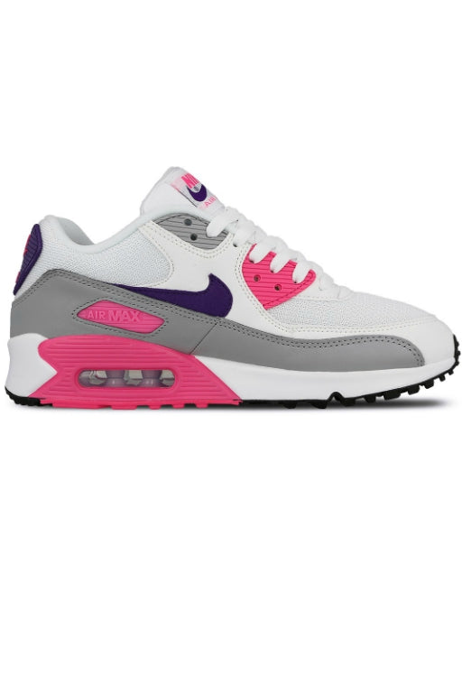 NIKE Air Max 90 White/Court Purple/Wolf Grey (WHPPL) 9228
