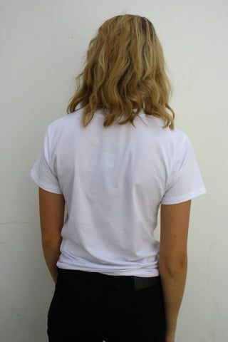 WEDNESDAYS PROJECT No Bra Club Tee White 33376