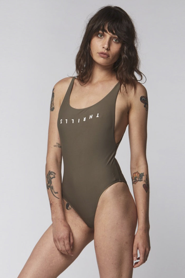 THRILLS Classic One-Piece Army 32240