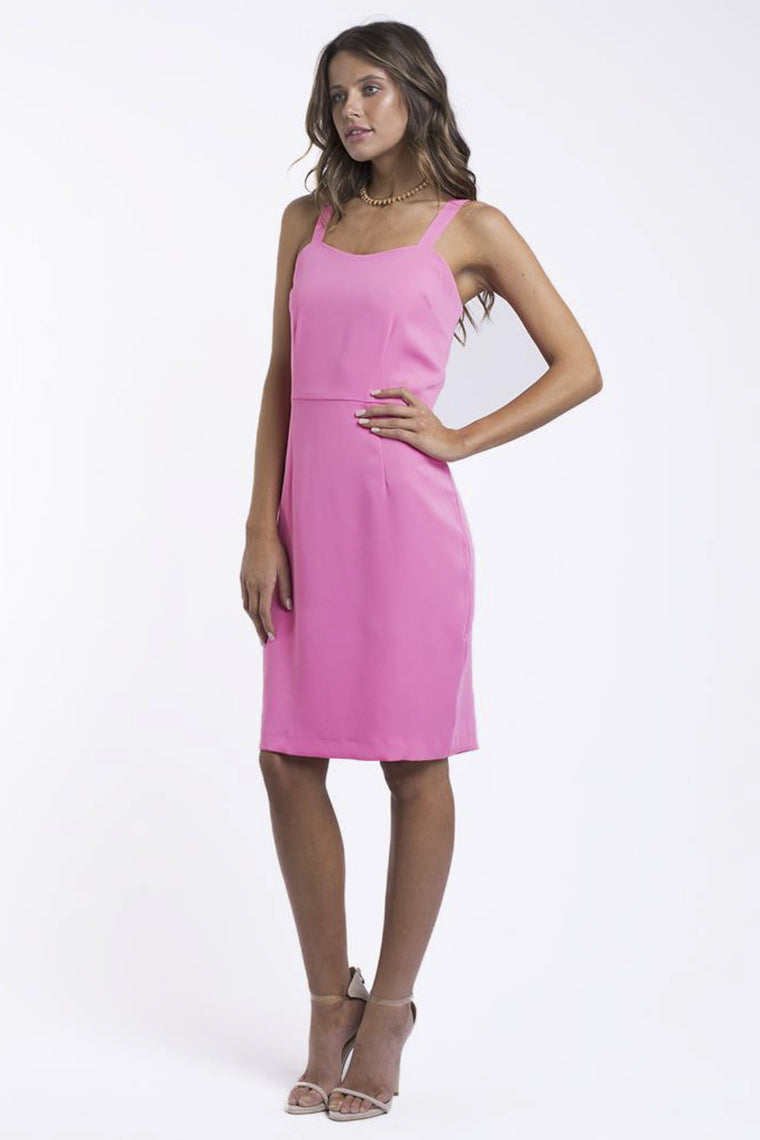 JORGE Oaks Dress Pink 33020