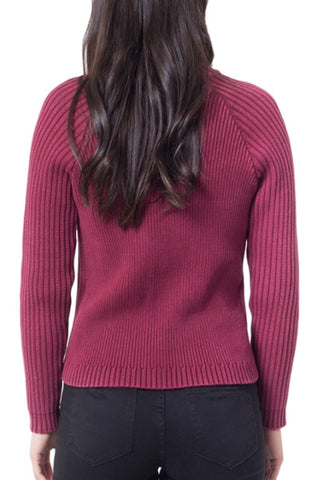 ALL ABOUT EVE Portsy Knit Ruby Wine 32172