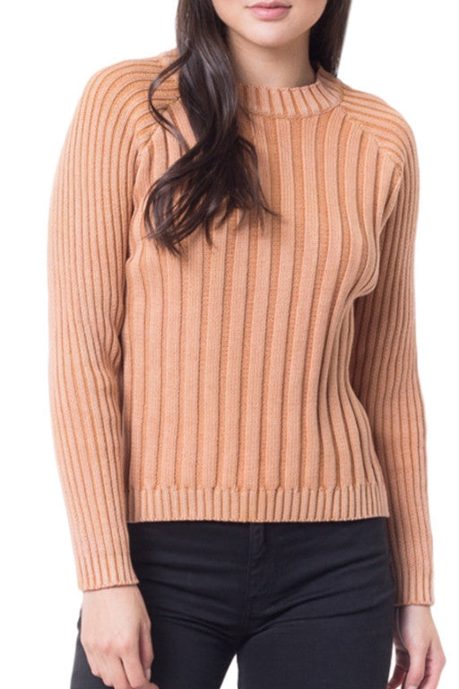 ALL ABOUT EVE Portsy Knit Camel 32172