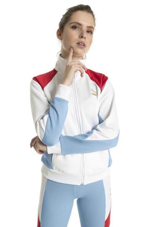 PUMA Retro Track Jacket White 33839