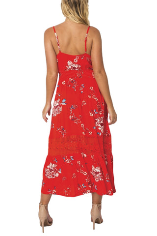 ASHA - Promise Me Dress Red 33051