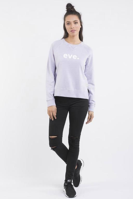 ALL ABOUT EVE  Eve Signature Crew Purple 33067