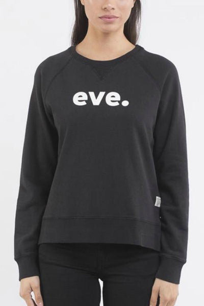 ALL ABOUT EVE  Eve Signature Crew Black 33067