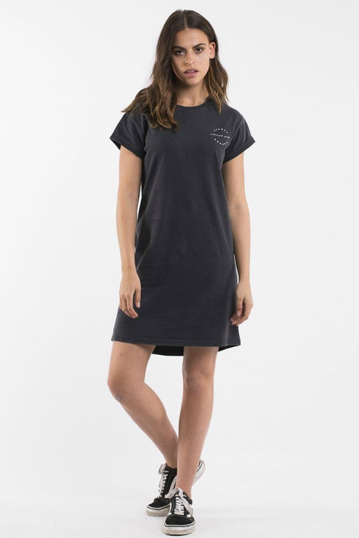 SILENT THEORY Been Around Tee Dress Black 33510