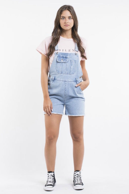 SILENT THEORY Rugged Overalls Light Blue 33511
