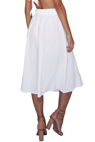 ASHA - Cools Skirt White 33119