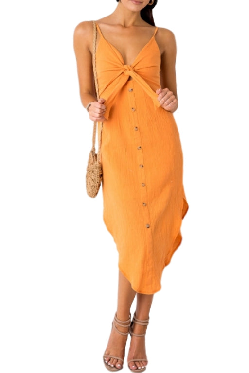 ASHA Special Place Dress Orange 33256