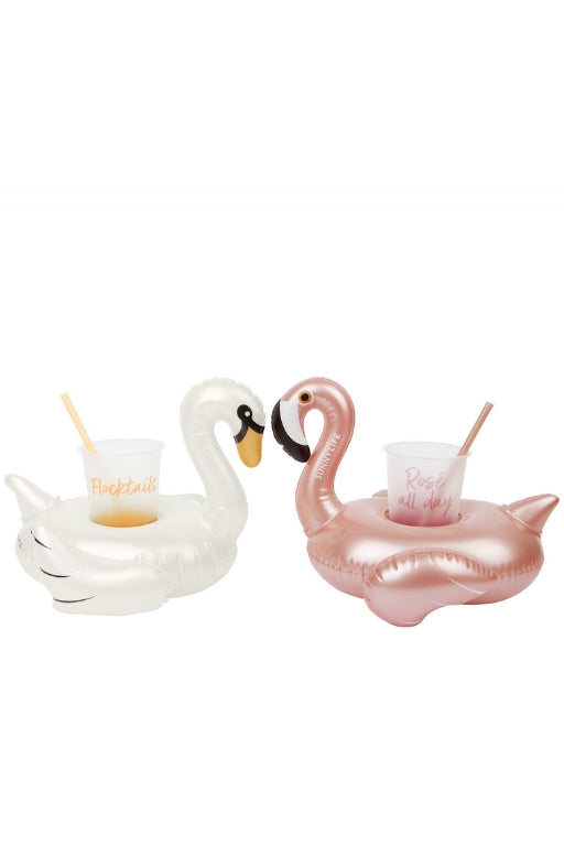 SUNNYLIFE Luxe Drink Holders Party Disco Birds 34446