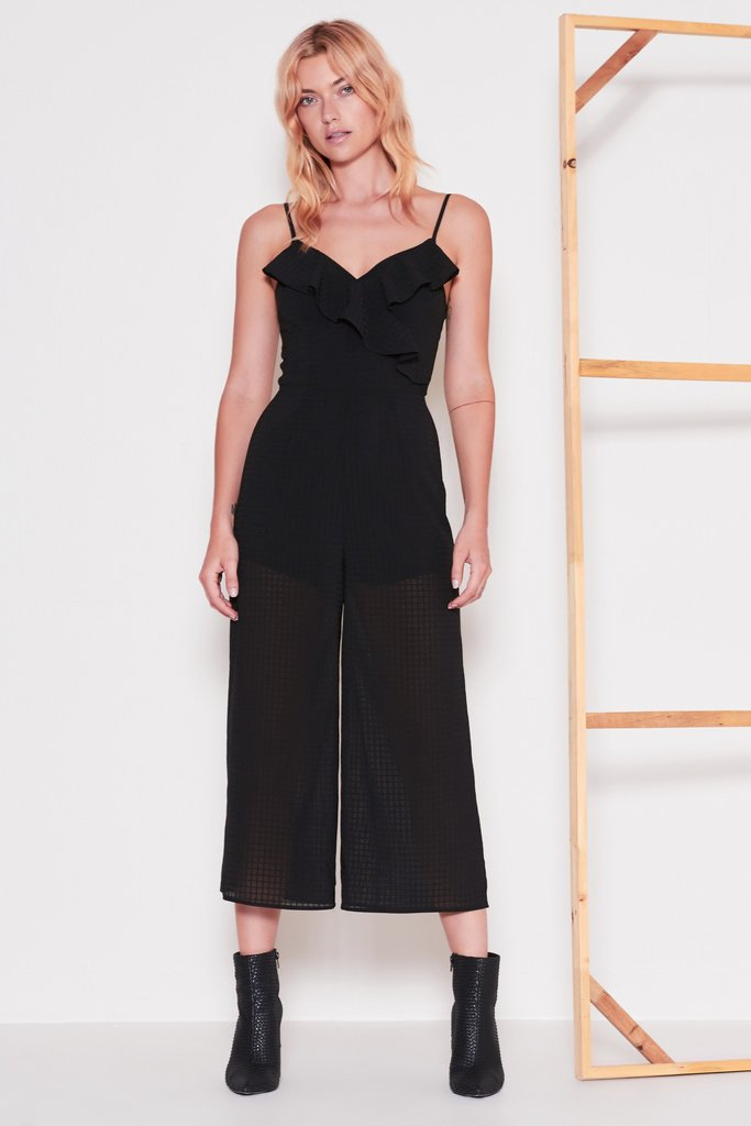 THE FIFTH LABEL The Window Jumpsuit Black 33288