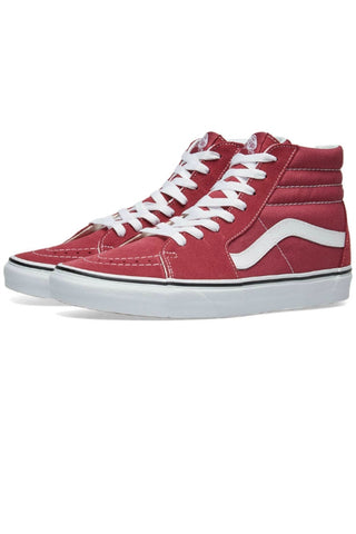 VANS Sk8 Hi Dry Rose/True White Pink 34369